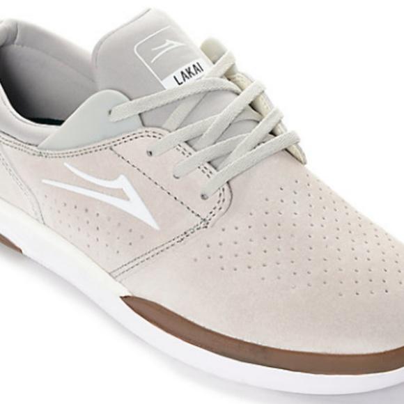 83709bf1c07c Lakai Fremont Other - Lakai Fremont Off White   Gum Suede Skate Shoes